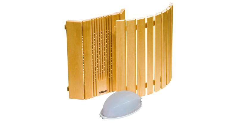 eclairage pour sauna