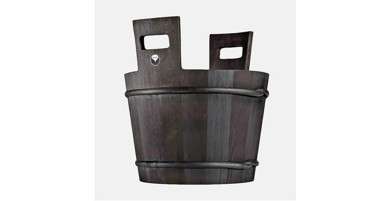 seau pour sauna