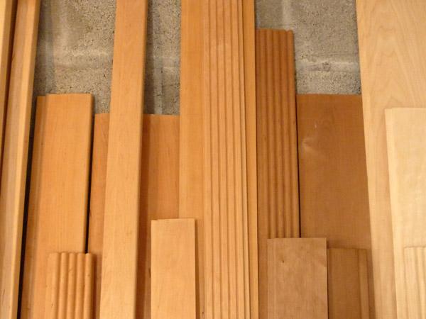 lambris sauna aulne