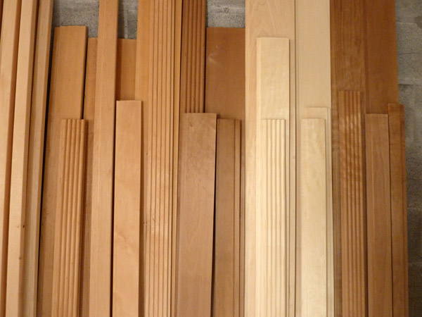 lambris sauna tremble aulne thermique