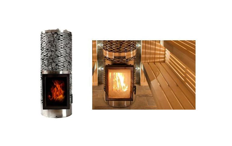 poeles pour saunas de la marque iki. Black Bedroom Furniture Sets. Home Design Ideas
