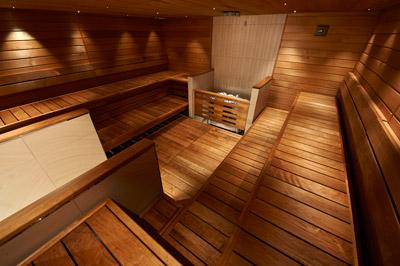 saunas pour les professionnels