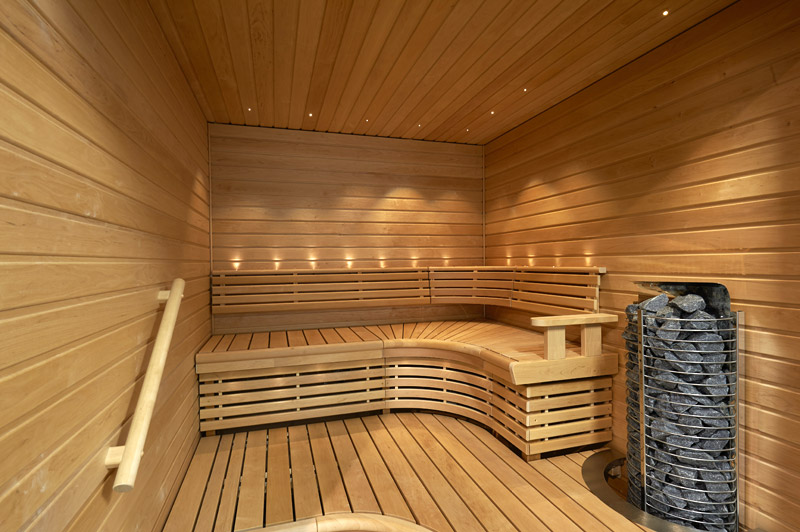 banquettes pour saunas de la marque sunsauna. Black Bedroom Furniture Sets. Home Design Ideas