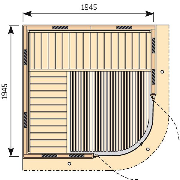 cabine infrarouge rondium