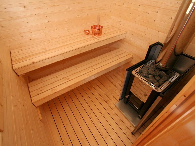 Saunas harvia kuikka keitele for Cabine sauna exterieur