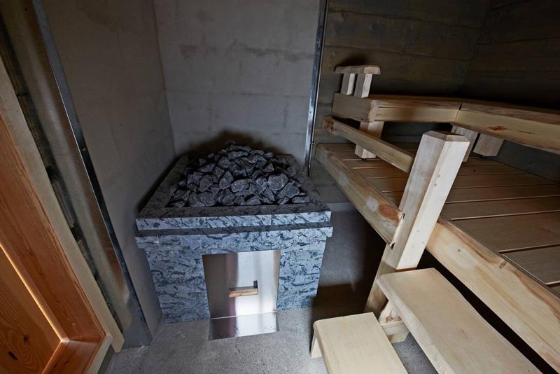 sauna fum�e