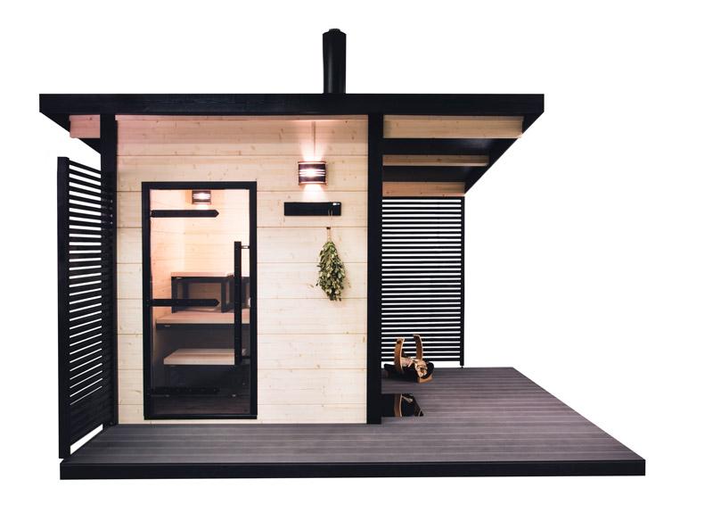 Sauna Exterieur Harvia Solide