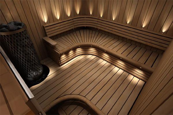 banquette sauna tremble thermique